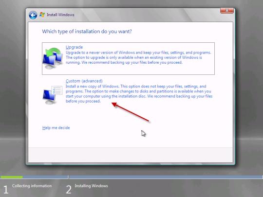 SBS SBS Essentials Custom install or upgrade