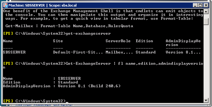 Quick Fix – Exchange Server Version? | Title (Required)