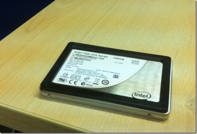 Intel SSD 320 Series 160gb