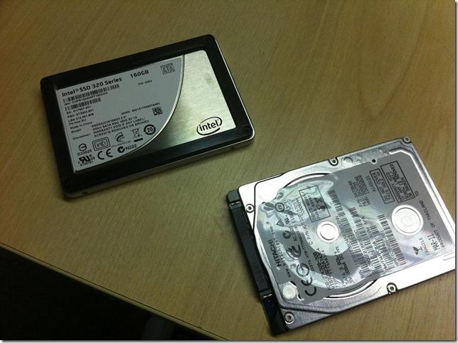 Intel SSD & Standard HDD