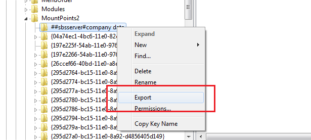 Quick Fix : Removing a disconnected network drive   Title