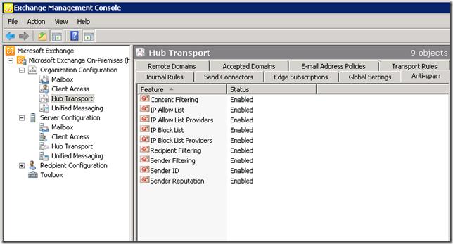Quick Fix : SBS 2011 Standard (Exchange 2010) 554 5 1 0