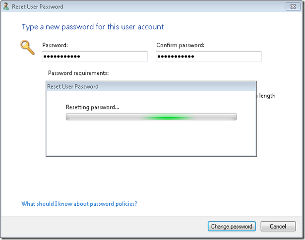 10.Change Password