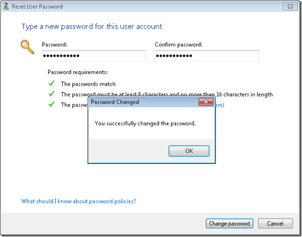 11.Change Password