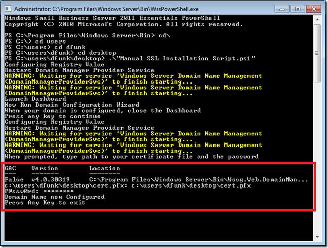 9.SSL Installed