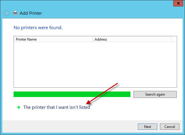 how to delete network printer in windows 10
