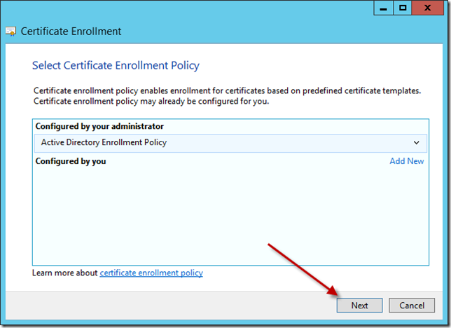 Enable directaccess on windows server 2012 essentials title required on the request certificates page find web server then click underneath where it says more info required yelopaper Choice Image