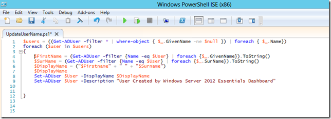 PowerShell, Make it do something useful! | Title (Required)