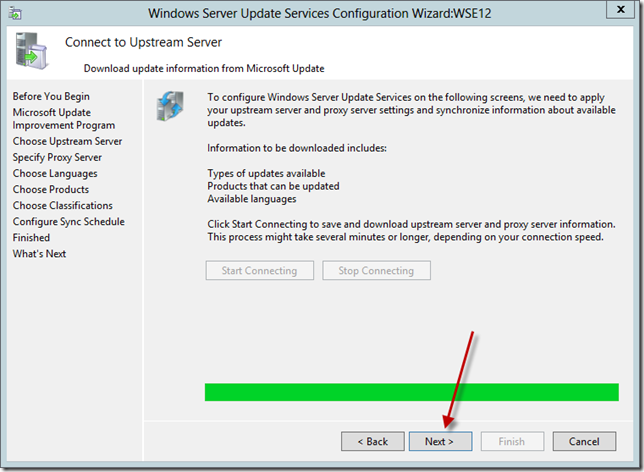 Enable WSUS on Server 2012 Essentials Config Wizard 11
