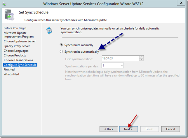 Enable WSUS on Server 2012 Essentials Config Wizard 13