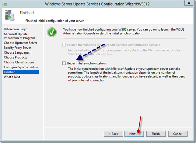 Enable WSUS on Server 2012 Essentials Config Wizard 14