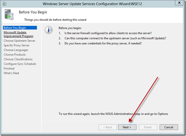 Enable WSUS on Server 2012 Essentials Config Wizard 5