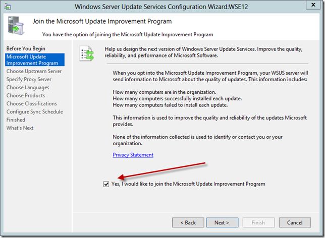 Enable WSUS on Server 2012 Essentials Config Wizard 6