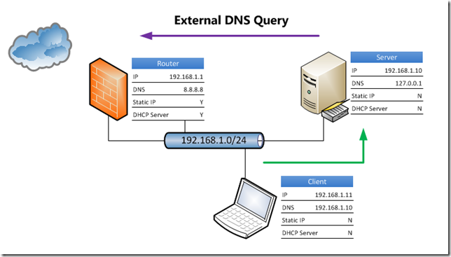 Essentials DNS Query External