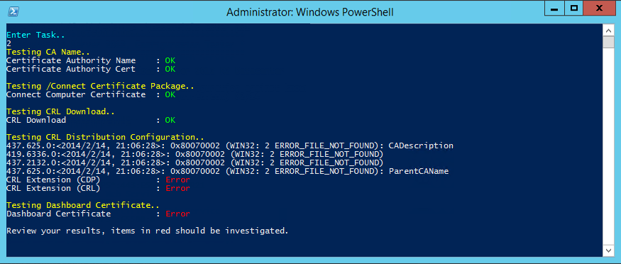 Windows Server Essentials – Configuration Troubleshooter