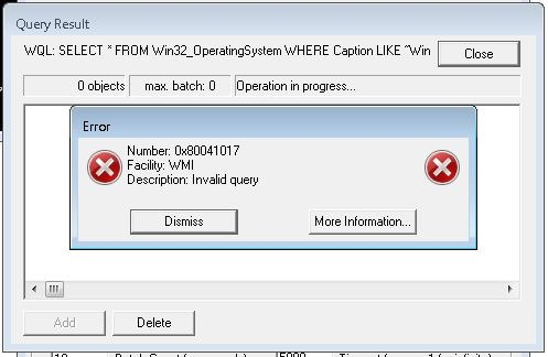 How to make a WMI Filter? | Title (Required)