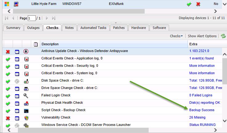 Windows Server Essentials–Client Backup Monitoring | Title