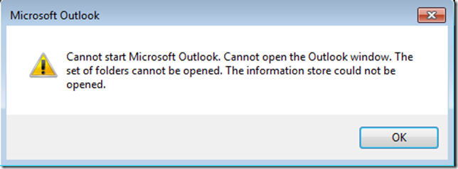 Outlook Broken