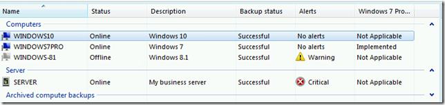 Client Backup Success