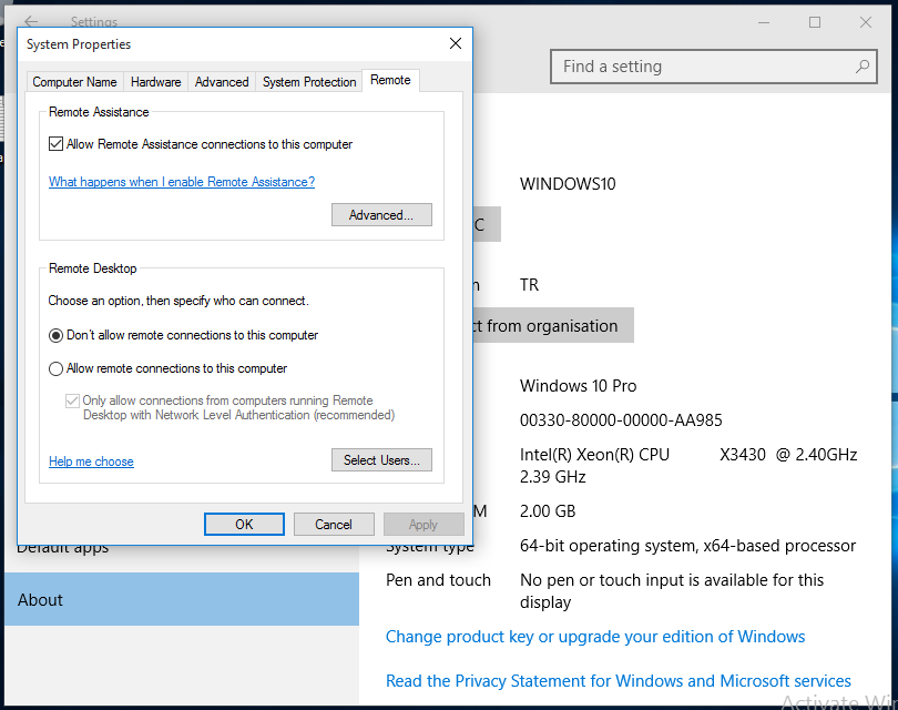 SBS 2011 Essentials – Windows 10 | Title (Required)