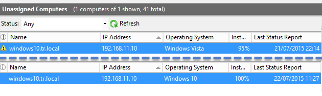 Windows 10 on WSUS Shows as Windows Vista | Title (Required)