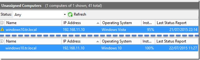 windows 10 WSUS