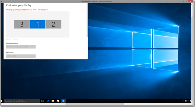 RDP to Windows 10