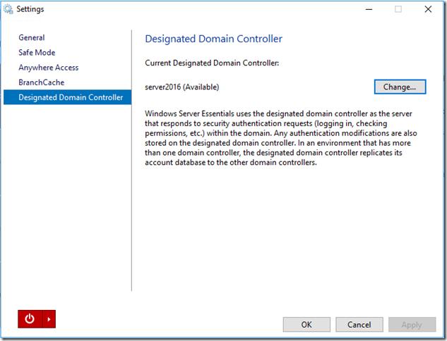 Designated Doman Controller