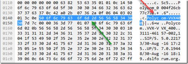 Polycom ASCII