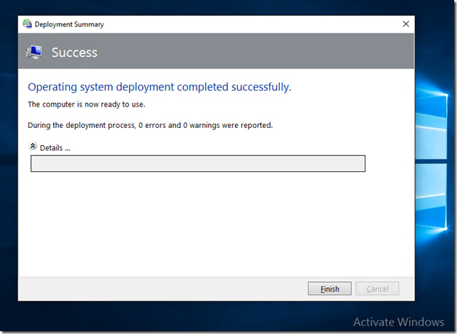 MDT 2013 Windows 10 and the MSP Part 2 | Title (Required)