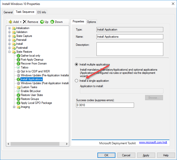 MDT 2013 Windows 10 and the MSP Part 4 | Title (Required)