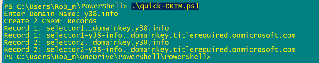 Quick Fix: Enable DKIM for Office 365 | Title (Required)