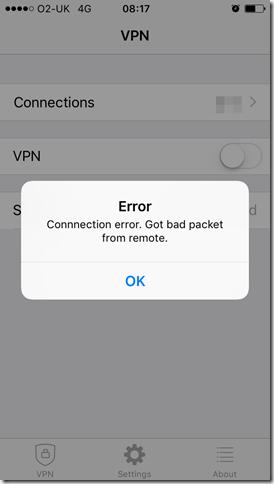 Quick Fix: Fortinet SSLVPN 98% Error Unable to Establish the